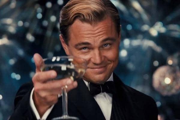 Leonardo Dicaprio Cheers Discount